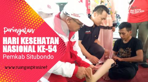 Peringatan Hari Kesehatan Nasional (HKN) ke-54 tahun 2018 di Kabupaten Situbondo