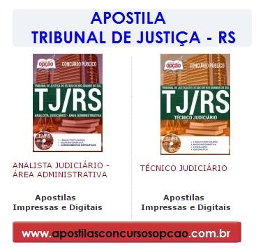 Apostila Tribunal de Justiça do RS: Concurso TJ RS 201.7