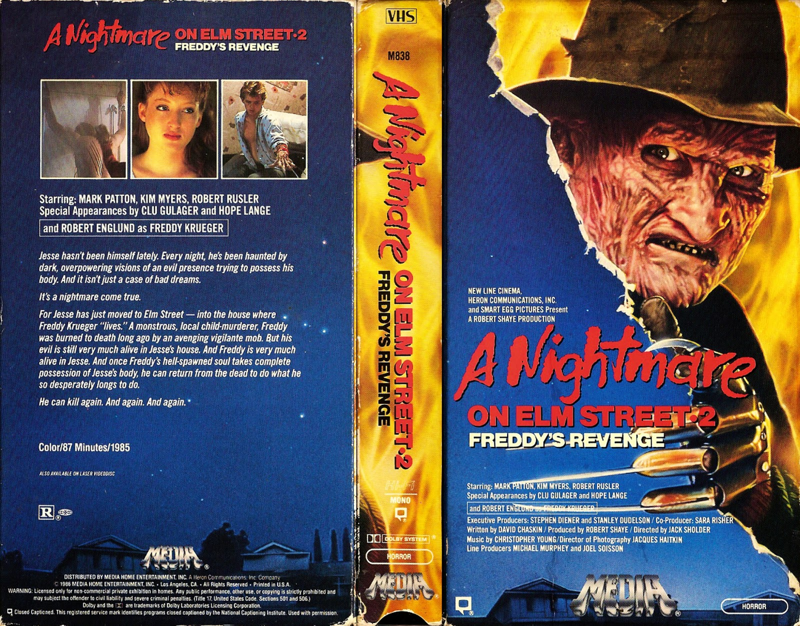 If You Read This Blog Chances Are You Have Probably Seen Every One Of Films In The Nightmare On Elm Street Franchise And Better Yet I Can Imagine That I