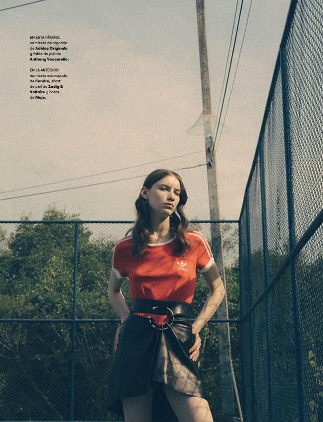 Sofia Tesmenitskaya in 'Gummo' for L'Officiel Spain June 2016