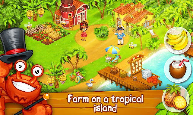 Download Farm Paradise Hay Island Bay v1.49 Mod Apk Terbaru (Unlimited Diamonds)