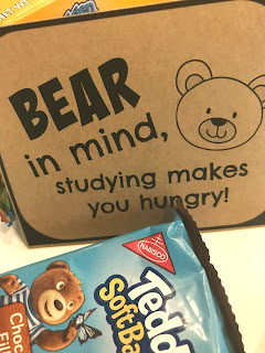 Bear themed College Care Package @michellepaigeblogs.com