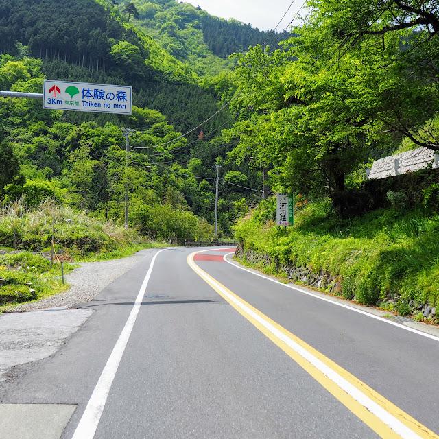 青梅街道 体験の森3km