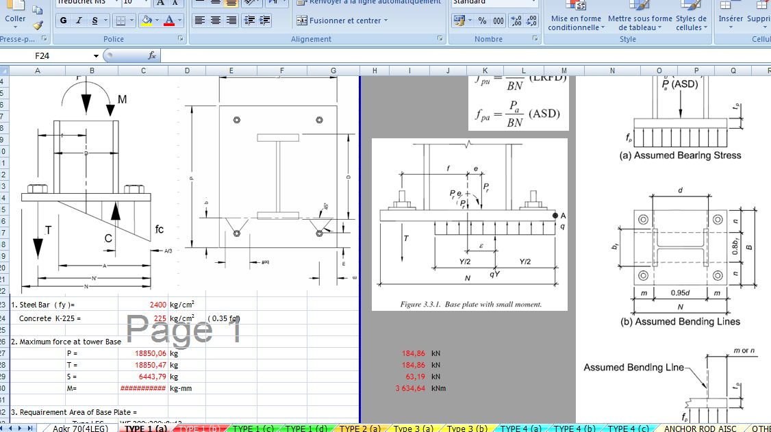 base plate design example eurocodes - FREE ONLINE