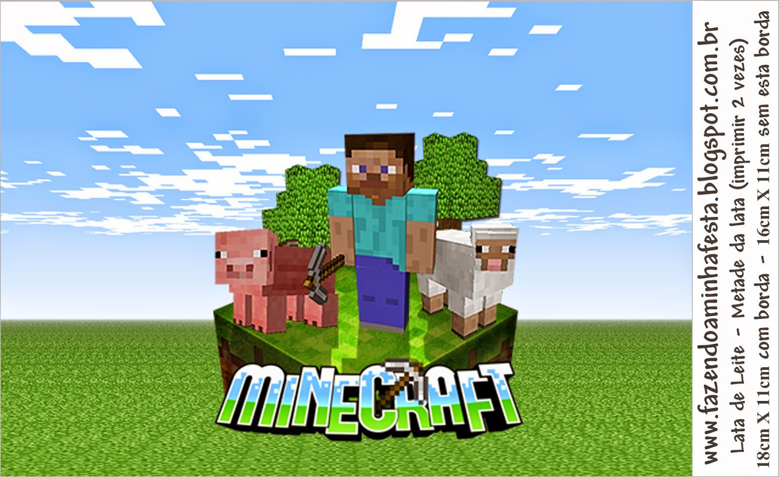 It is a graphic of Witty Minecraft Images for Printing