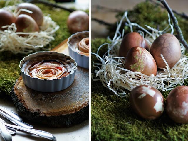 Happy Easter // Rosen Rhabarber Tartelettes