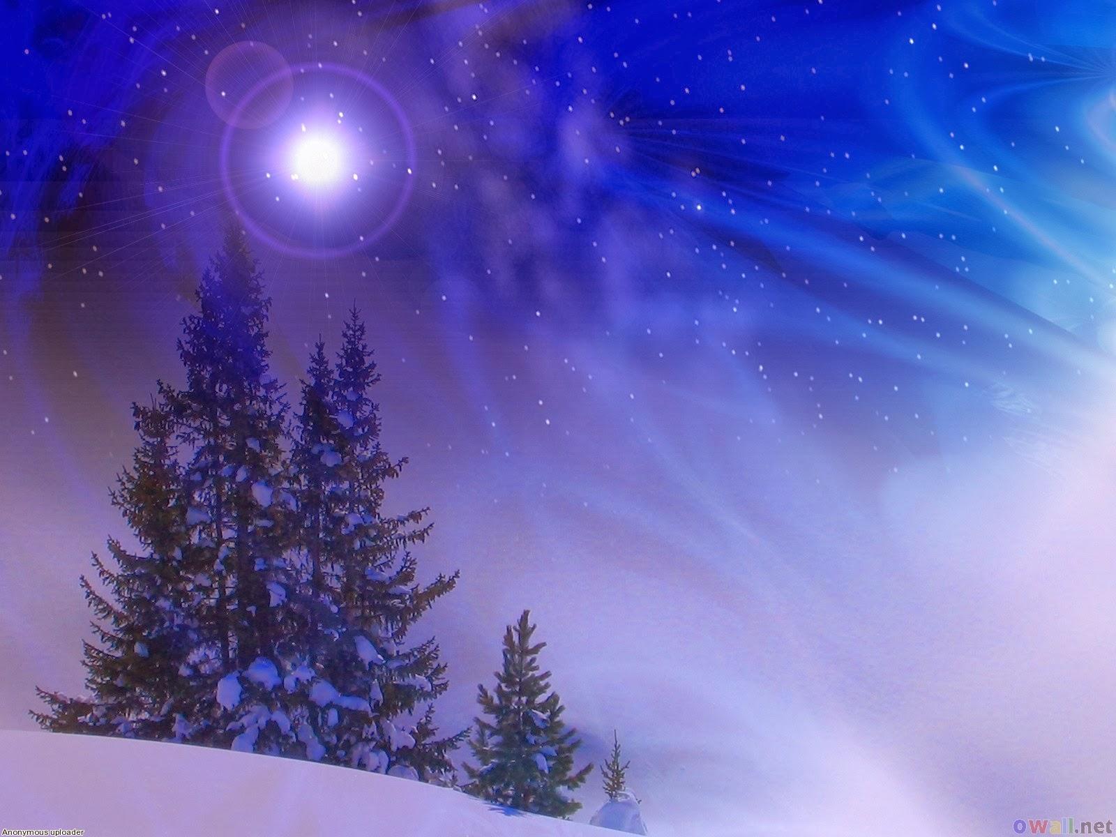 wallpaper winter night - photo #20