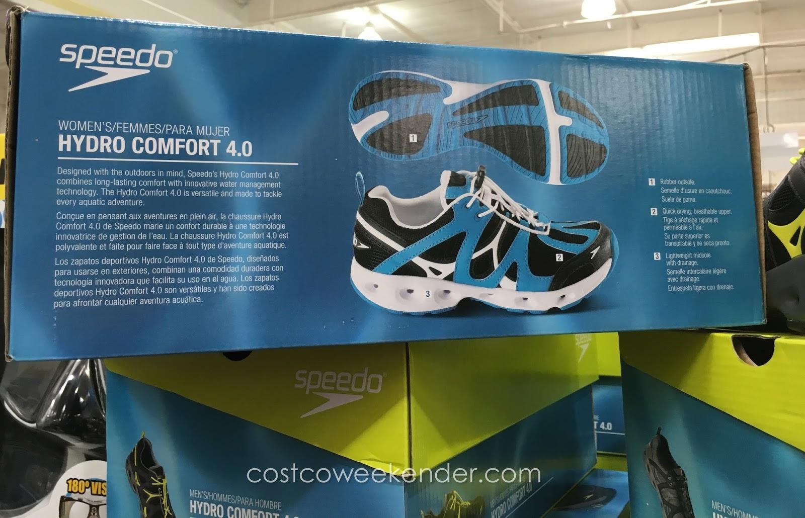 e082aff67296 Get your feet wet in the Speedo Ladies Hydro Comfort 4.0 Water Shoe