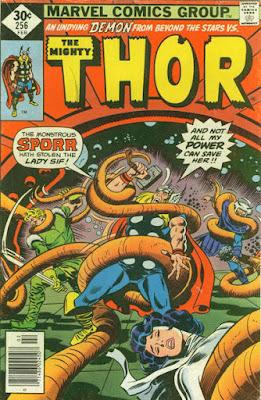 Thor #256, Sporr