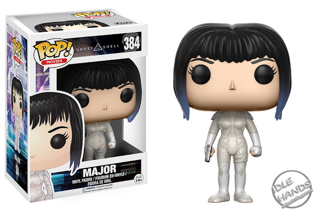 Toy Fair 2017 Funko Ghost in the Shell Movie Pops