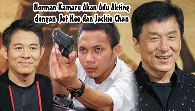 Norman Kamaru Akan Main Film Bareng Jet Lee dan Jackie Chan