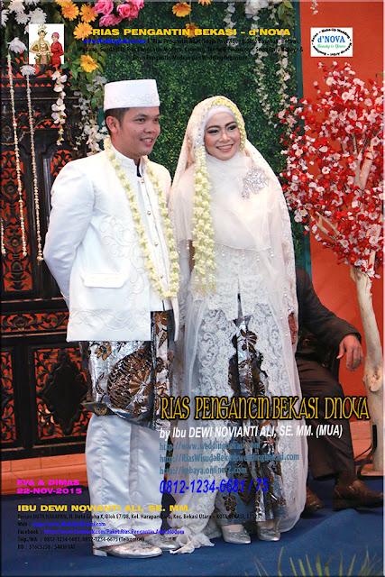 Rias Pengantin MUSLIMAH - Sanggar Make Up Rias Pengantin Bekasi dNova Bekasi Utara (3)