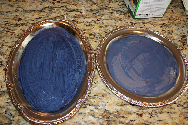 Posh Pinner Dollar Tree Trays And Chalk Board Paint