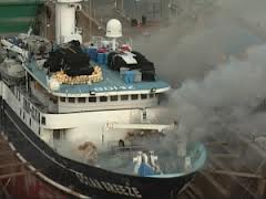 FIRE IN DRY DOCK AND DOCUMENTED PROCEDURE