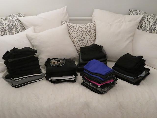 varasto vaatteet säilytys