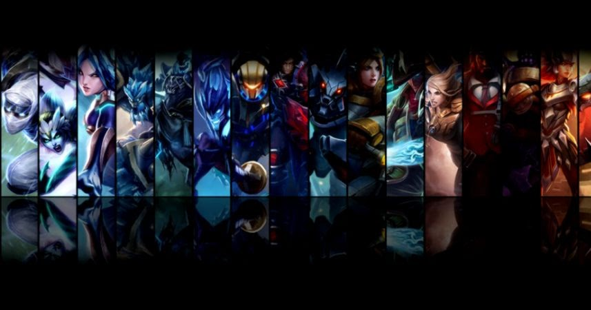 Dual Monitor Wallpaper League Of Legends: Double Screen Wallpaper