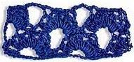 Patrón #1081: Encaje a Crochet.