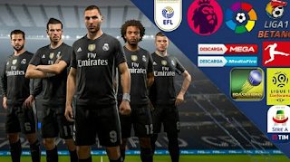 Free Download FTS Mod PES 2019 Apk Data Obb by Cristinel CRD