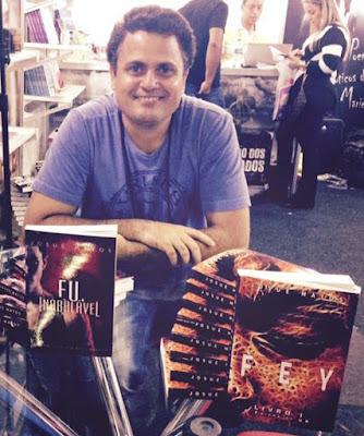 Josué Matos Autor Livro Fey Enigma Ur  Editora Pendragon