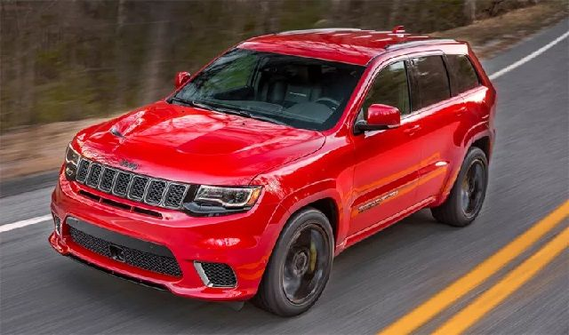 Jeep Grand Cherokee Srt 0-60 The Hellcat Powered 2018