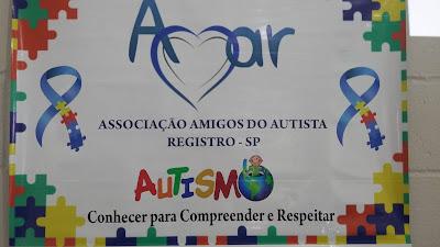 Reunião de acolhimento na AMAR – Associação  Amigos do Autista de Registro-SP