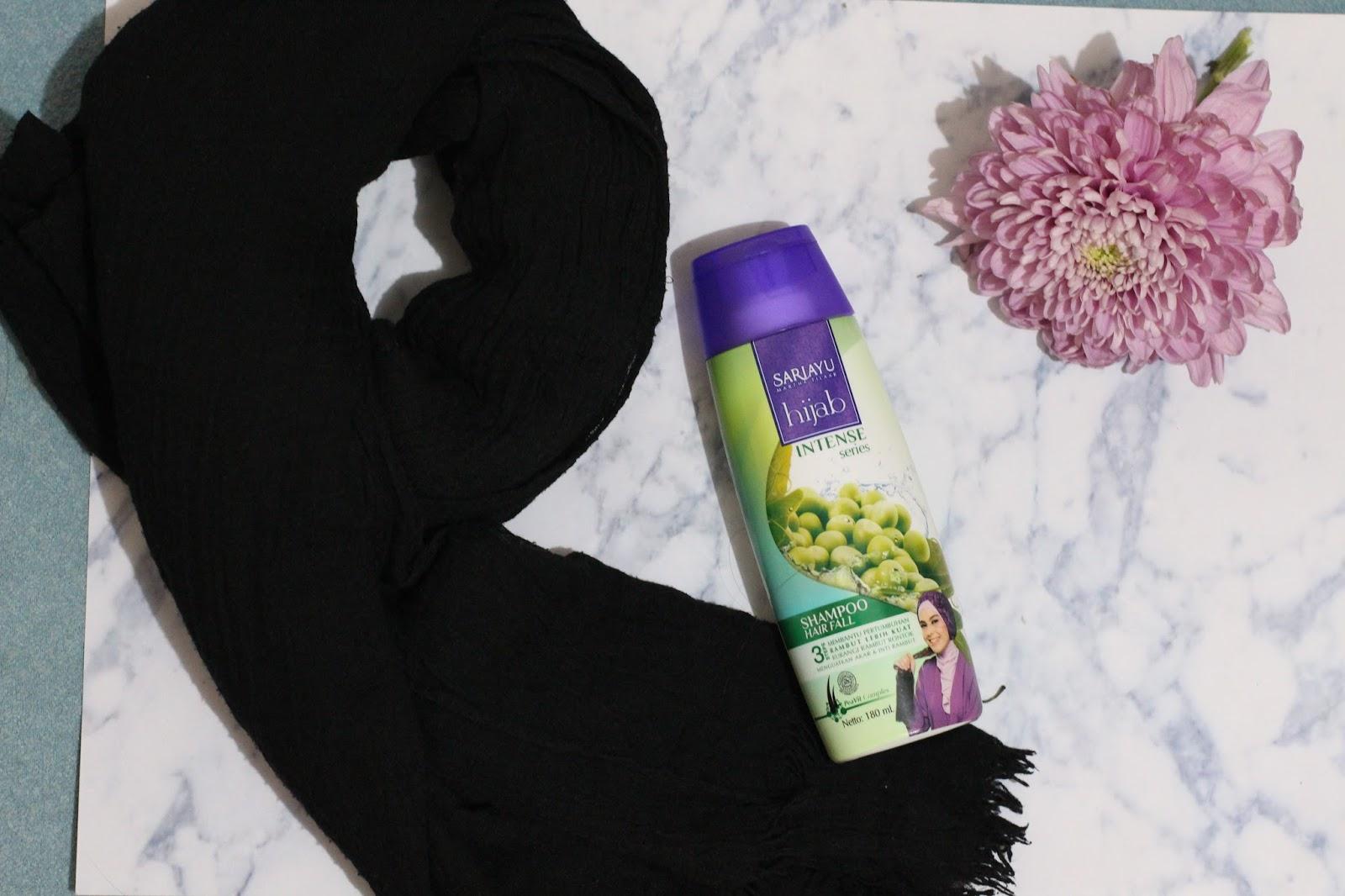 Review Sariayu Hijab Hairfall Arifa Nuryani Sari Ayu Shampoo Hair Fall 180ml Waktunya Product Nya