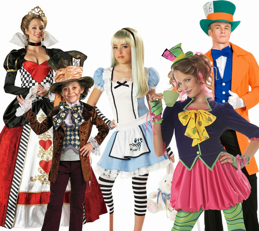 Alice in wonderland costumes  sc 1 st  Popular Costumes For Kids & Group Halloween Costume Ideas - Popular Costumes For Kids