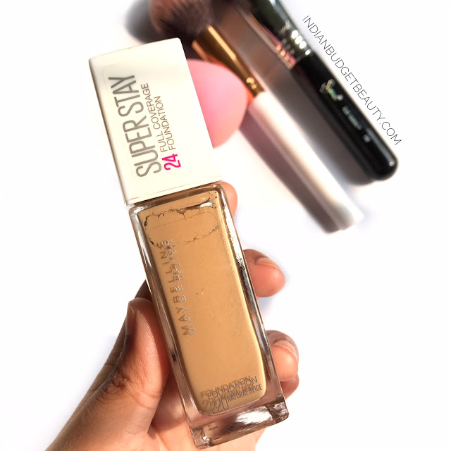 maybelline superstay foundation review