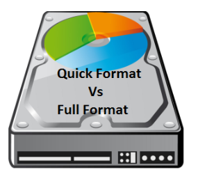 Explain Difference Between Quick Format vs Full Format Full Detail