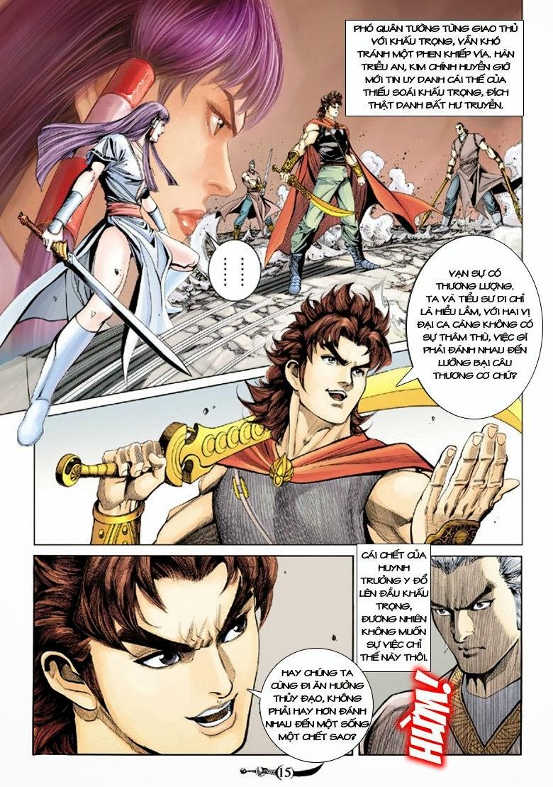 Đại Đường Song Long Truyện chap 150 - Trang 15