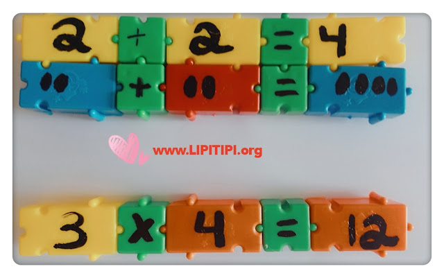 Alfabetização Matemática com Peças de Encaixe