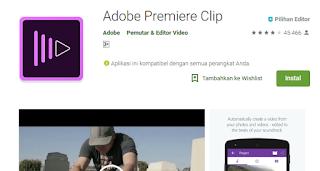 Aplikasi Edit Video Terbaik untuk Android-Adobe Premiere Clip
