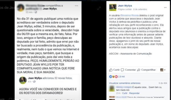 Jean Wyllys expõe e ameaça de processo quem compartilha boatos a seu respeito
