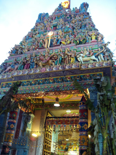 Hindu temple the Sri Mariamman Temple  Singapore
