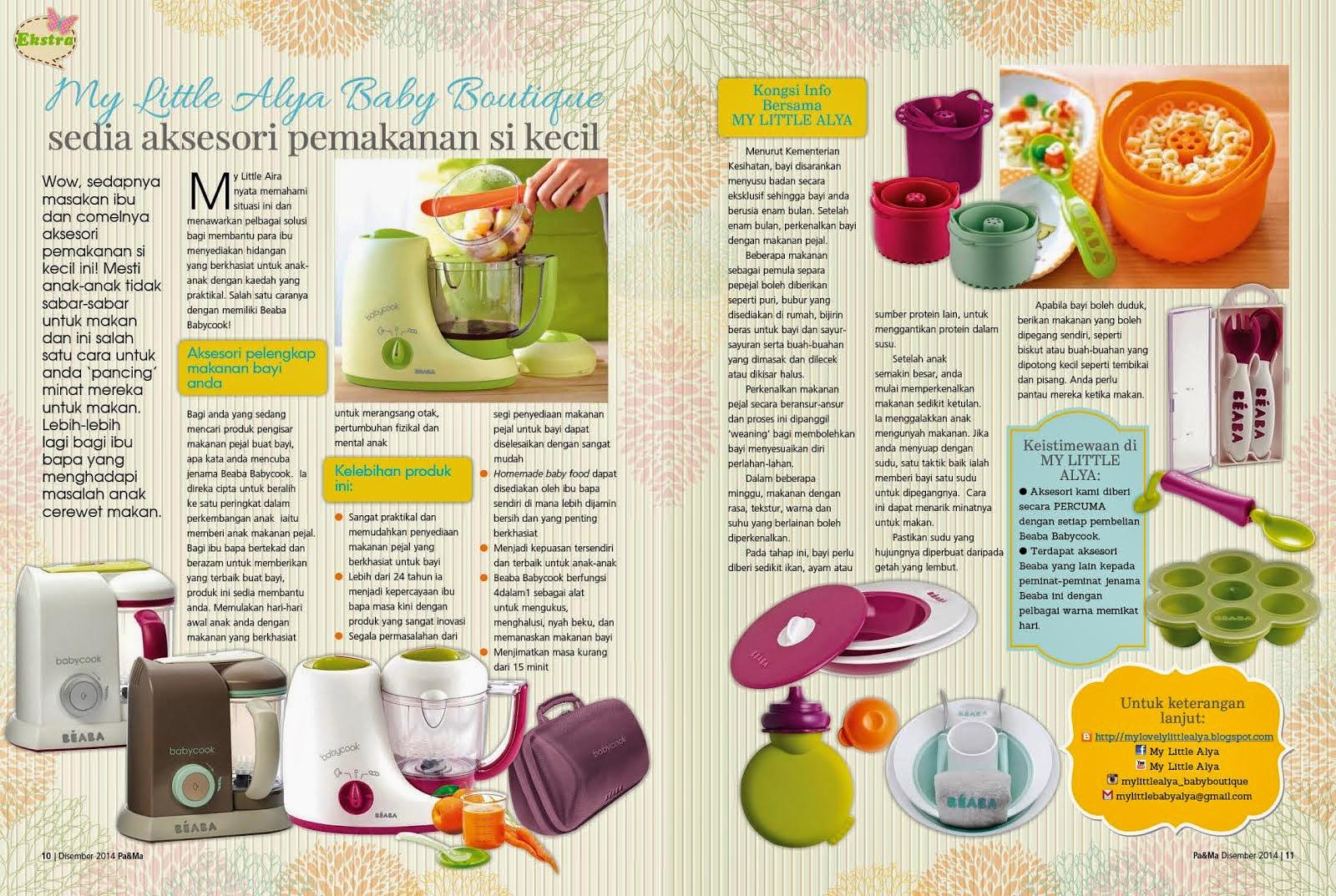 Beaba Baby Food Maker Malaysia