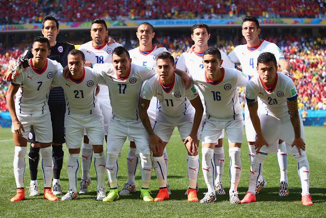 Formación de Chile ante Países Bajos, Copa del Mundo Brasil 2014, 23 de junio