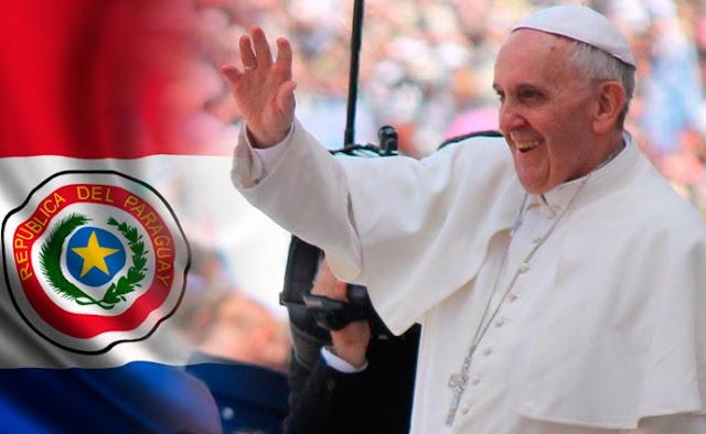transmision directo llegada del papa francisco paraguay