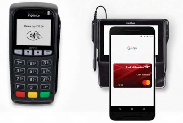 تقنية NFC Google Pay