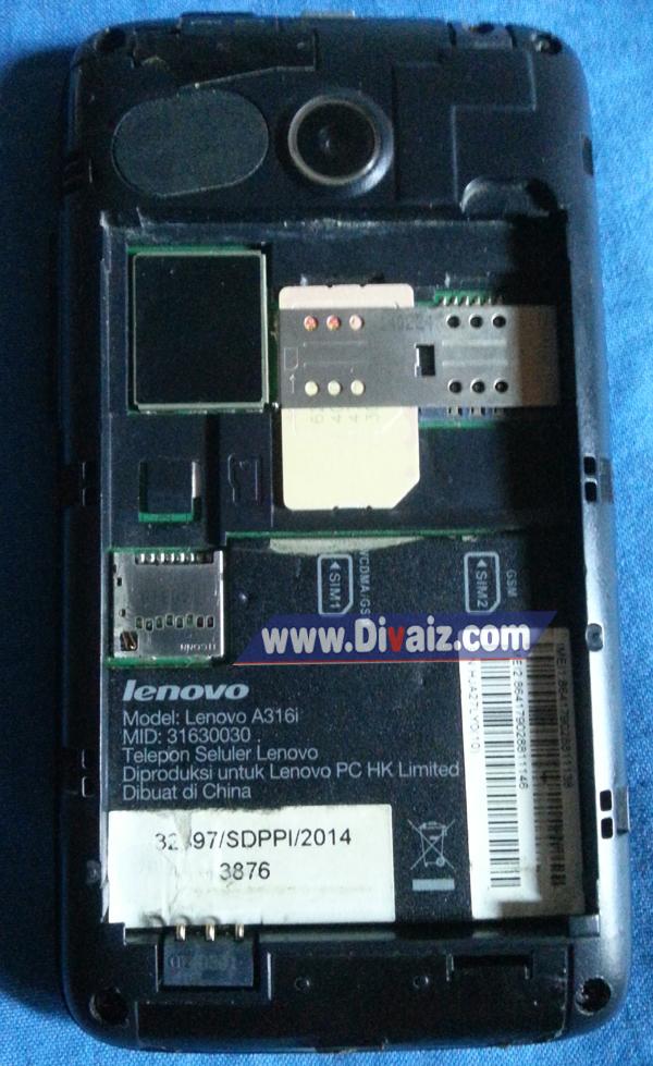 Cara Flash Ulang Lenovo A316i - www.divaizz.com