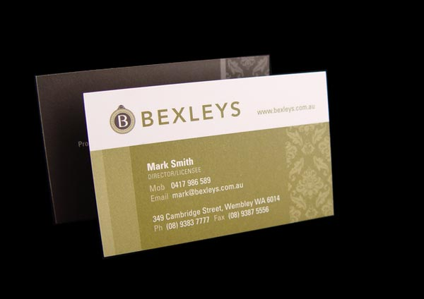 30 Best Examples of Real Estate Business Card Designs ...