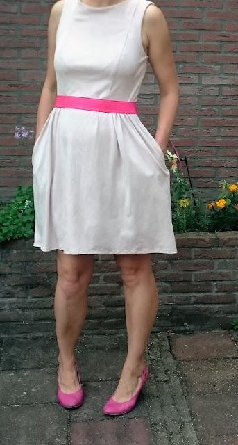 kwiksew 3929 jurk