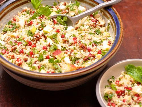 Receita: Salada de Quinoa