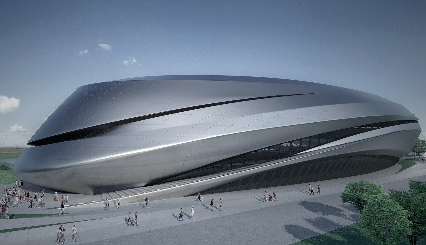 Zaha Hadid Bmw Project Wallpaperscraft
