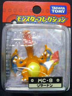 Charizard figure Takara Tomy Monster Collection MC series