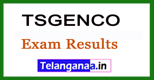 TSGENCO 2018 EEE Exam Results With Ranks