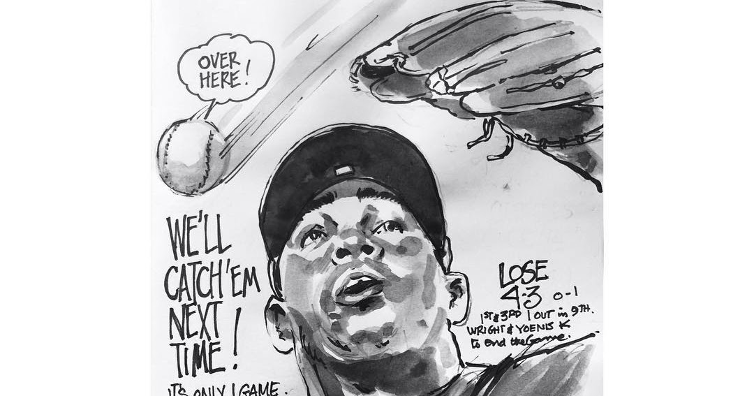 My Mets Journal: Game 1  No need to panic!