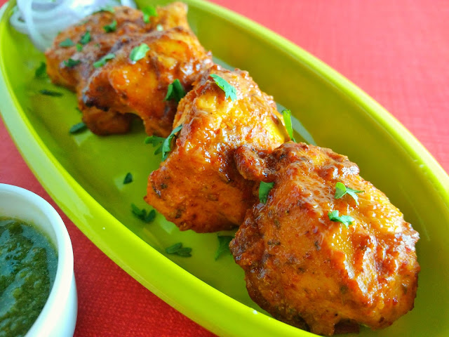 Peri Peri Chicken Tikka | Restaurant-Style Murg Tikka