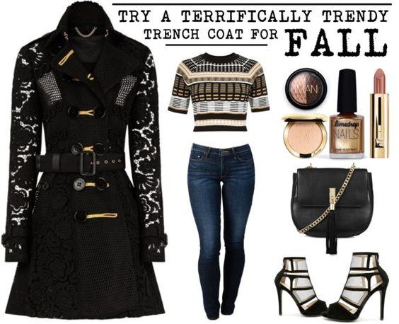 A Terrifically Trendy Trench Coat www.toyastales.blogspot.com #ToyasTales