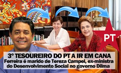 Resultado de imagem para ex-tesoureiro do PT Paulo Ferreira PRESO
