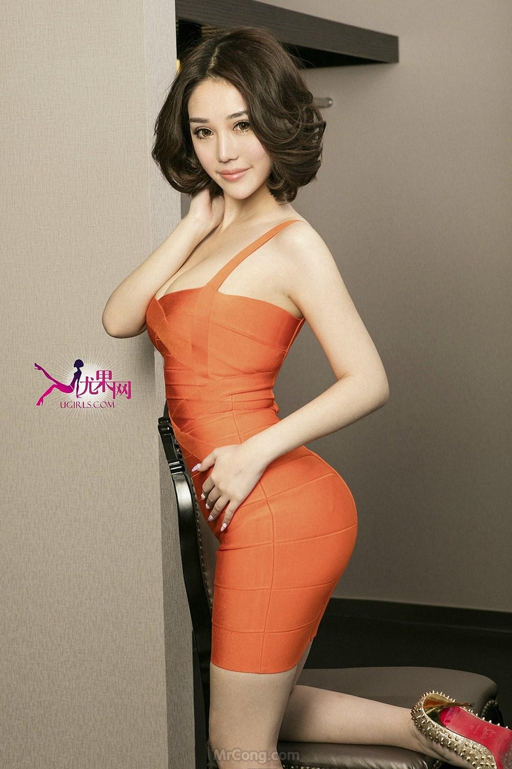 Image MrCong.com-UGIRLS-U146-Wang-Er-Lin-006 in post Mê mẩn với thân hình hoàn hảo của người đẹp Wang Er Lin (王尔琳) trong bộ ảnh UGIRLS 146